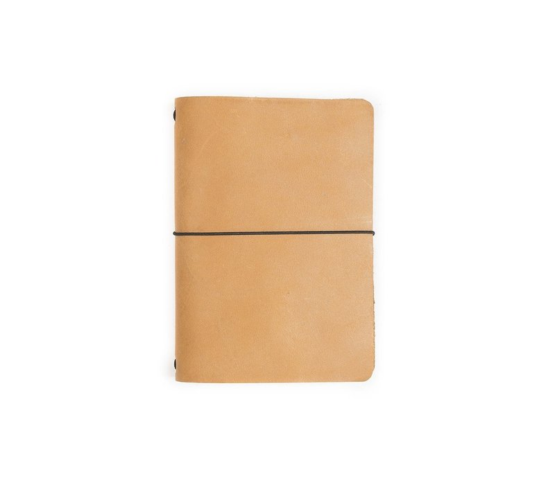 Expedition Point Five Leather Notebook (Buckskin)