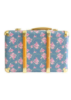 Alimrose Alimrose Mini Vintage Brief Case Wildflower