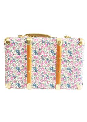 Alimrose Alimrose Mini Vintage Brief Case Petit Floral