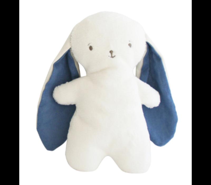 Alimrose Bobby Snuggle Bunny 20cm Chambray Linen