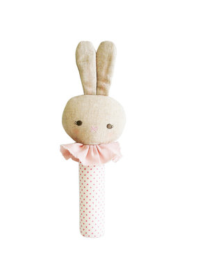 Alimrose Alimrose Roberta Bunny Squeaker Spot Pink