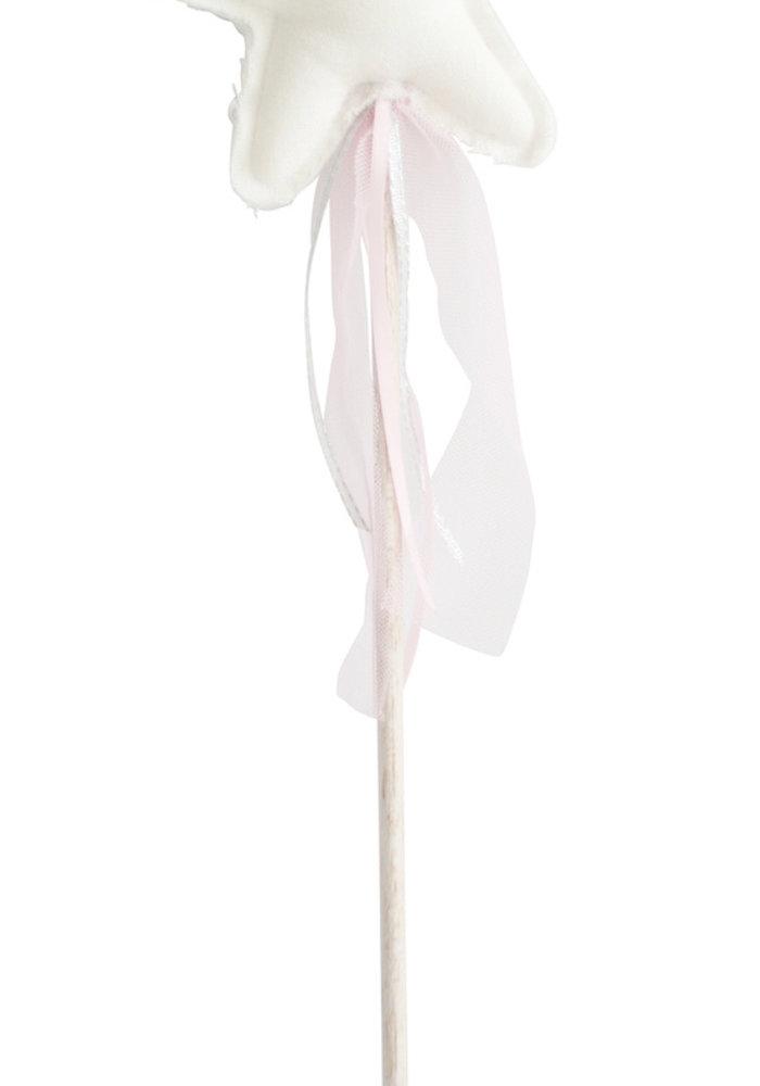 Alimrose Amelie Star Wand Ivory Linen