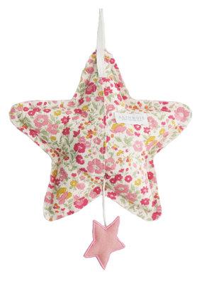 Alimrose Alimrose Star Musical Blush Linen & Rose Garden
