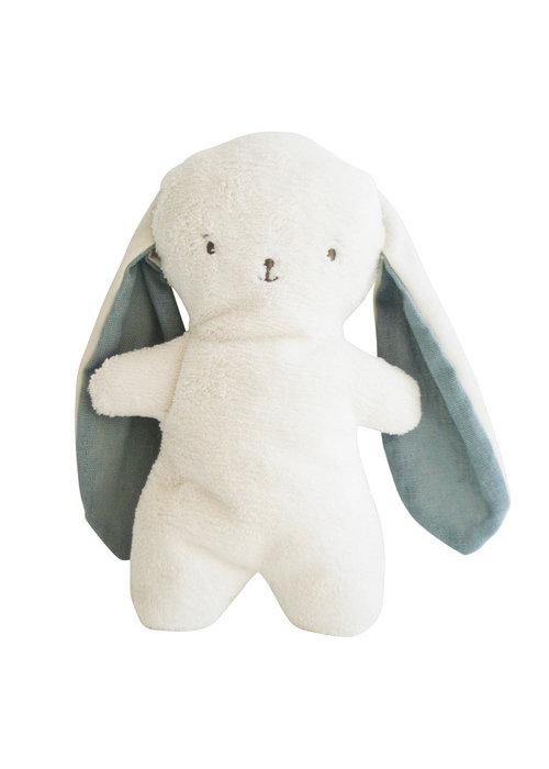 Alimrose Alimrose Bobby Snuggle Bunny 20cm Grey Linen