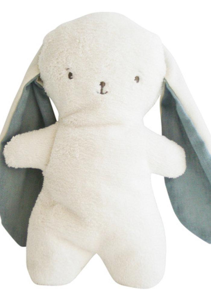 Alimrose Bobby Snuggle Bunny 20cm Grey Linen