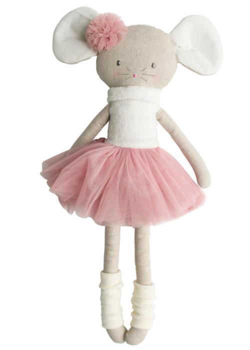 Alimrose Alimrose Missie Mouse Ballerina Large 50cm