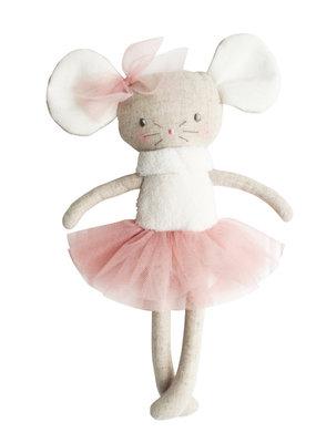 Alimrose Alimrose Missie Mouse Ballerina Mini 24cm