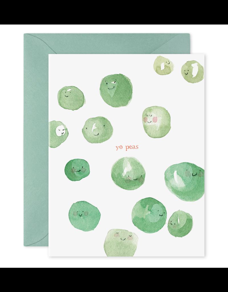 E. Frances Paper Yo Peas Card
