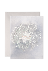 E. Frances Paper Wedding Wishes Card