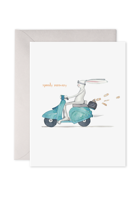 E. Frances Paper Speedy Recovery Card