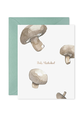 E. Frances Paper Holy Shiitakes Card