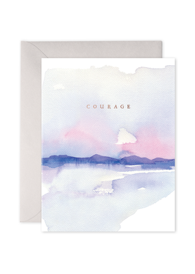 E. Frances Paper Courage Card