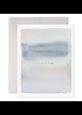 E. Frances Paper No Words Card