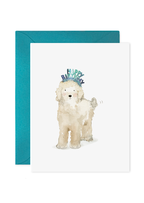 E. Frances Paper Lucy Dog Birthday Card