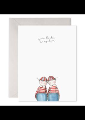 E. Frances Paper Dee + Dum Card