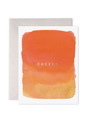 E. Frances Paper Cheers Card