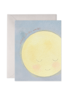 E. Frances Paper Baby Moon Card