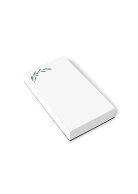 E. Frances Paper Green Olive Branch Notepad