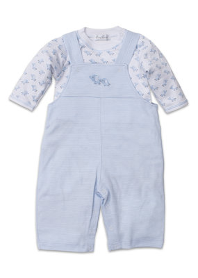Kissy Kissy Kissy Kissy Baby Trunks Light Blue Overall Set