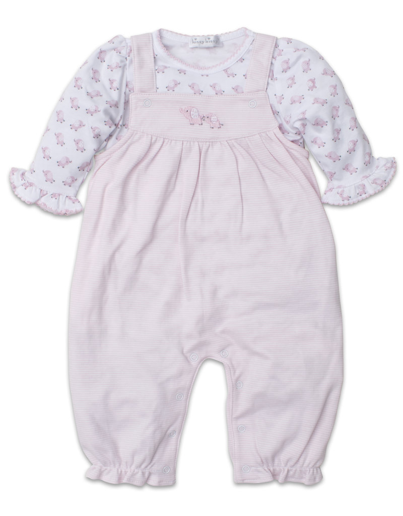 c920415ca Kissy Kissy Baby Trunks Pink Overall Set - The Village Exchange