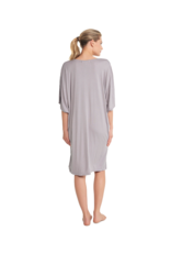 Barefoot Dreams Barefoot Dreams Luxe Milk Jersey Sort Caftan Pewter OS