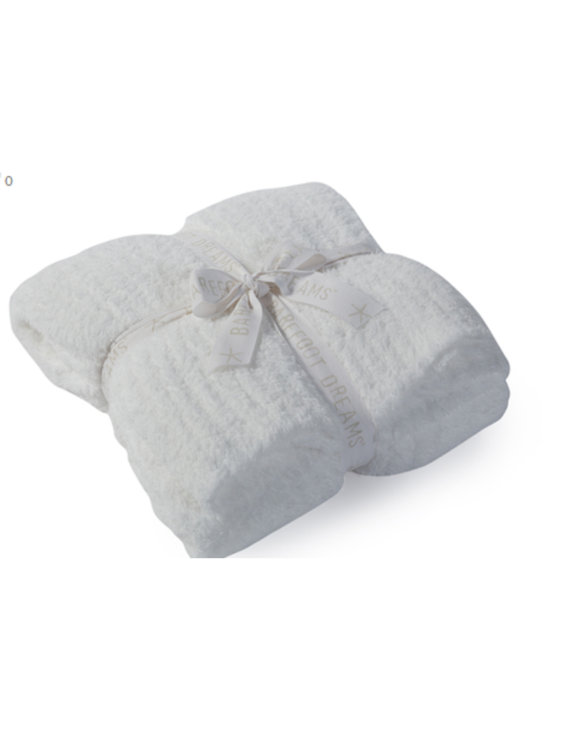 Barefoot Dreams Barefoot Dreams Cozychic Ribbed Throw White