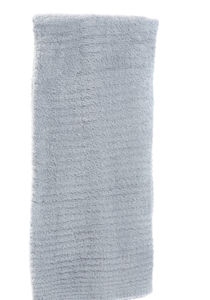 Barefoot Dreams Cozychic Ribbed Throw Ocean