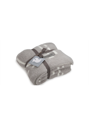 Barefoot Dreams Barefoot Dreams Covered in Prayer Oyster/Pearl Blanket