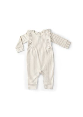 Pehr Pehr Stripes Away Romper Petal