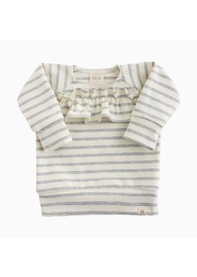 Lulu & Roo Lulu & Roo Shipley Stripe Ruffle Sweater