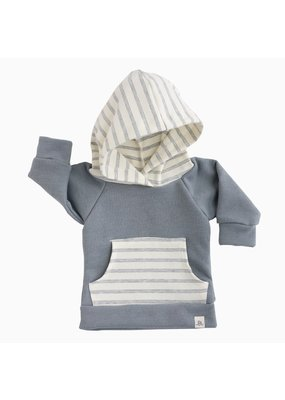 Lulu & Roo Lulu & Roo Fog and Shipley Stripe Hoodie & Pants Set