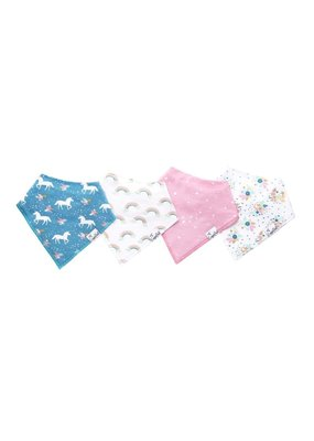Copper Pearl Copper Pearl 4 Pack Bandana Bibs Whimsy
