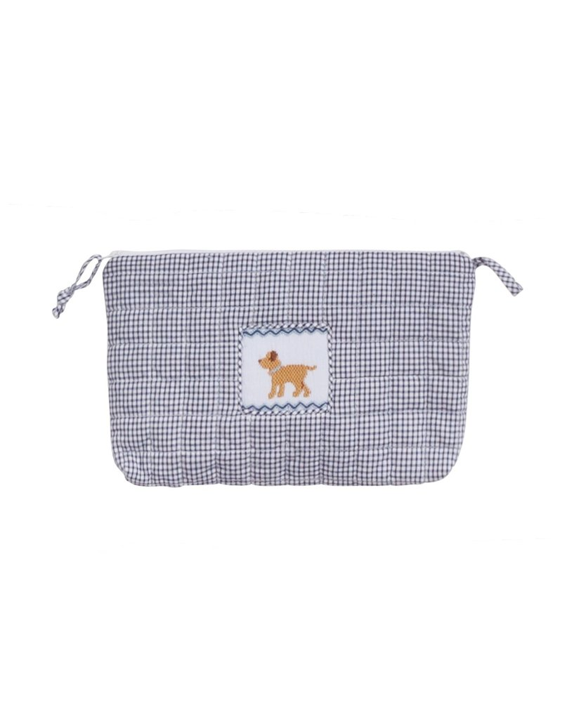 Little English Little English Quilted Luggage Cosmetic Dog