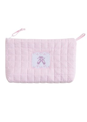 Little English Little English Quilted Luggage Cosmetic Ballet Slipper