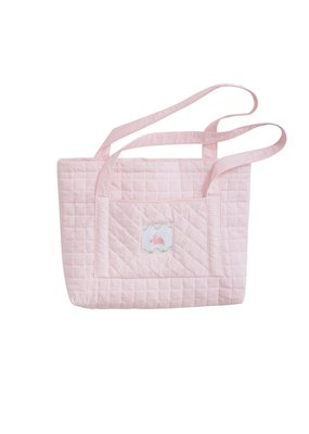 Little English Little English Quilted Luggage Tote Bunny