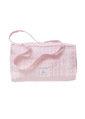 Little English Little English Quilted Luggage Duffle Bunny