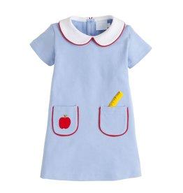 Little English Little English School Days Applique Libby Dress
