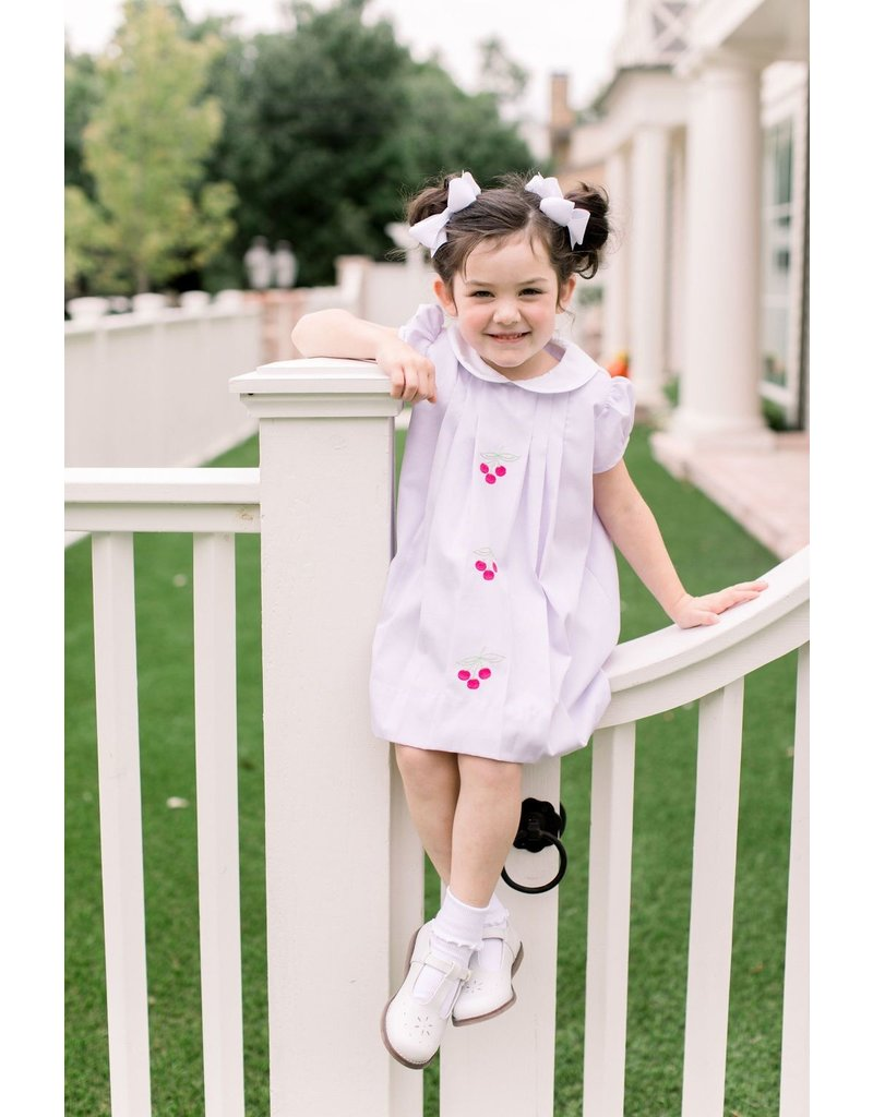 Proper Peony Proper Peony Lavender Pique Cherry Dress