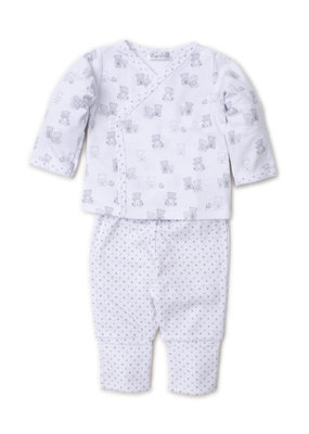 Kissy Kissy Kissy Kissy Bear-y-Cute Silver Pant Set Mix