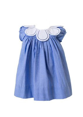 Proper Peony Proper Peony Chambray Blue Tulip Dress