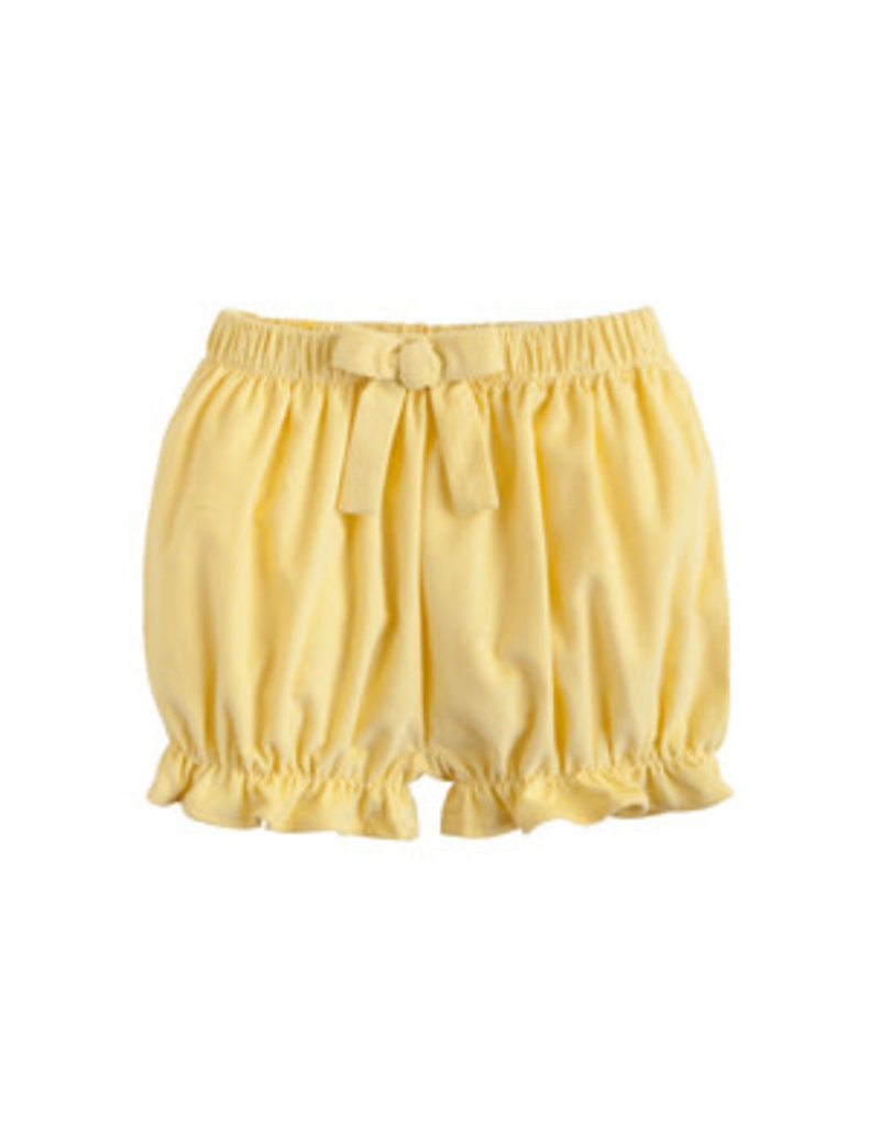 Little English Little English Corduroy Bow Bloomer in Buttercup