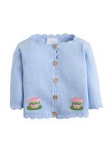 Little English Little English Teacup Crochet Sweater