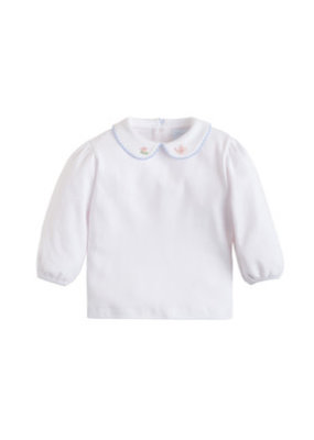 Little English Little English Teacup Pinpoint Blouse