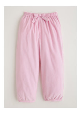 Little English Little English Banded Bow Pants in Light Pink