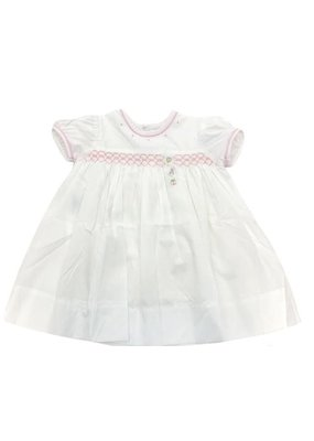 Lullaby Set Lullaby Set Birthday Dress Balloon/Hat/Present W/Pink Smocking