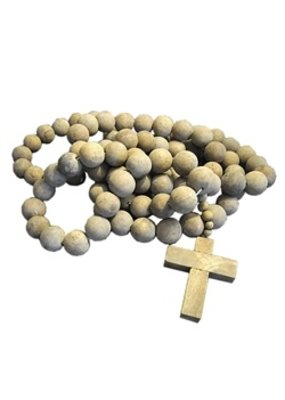 "Sugarboo Prayer Beads Cross 80 "" length"