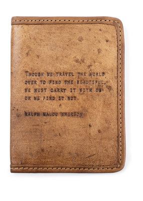 Sugarboo Passport Cover Ralph Waldo Emerson