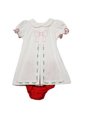 Sophie & Lucas Sophie and Lucas Merrymaker 2 pc Girl Set White