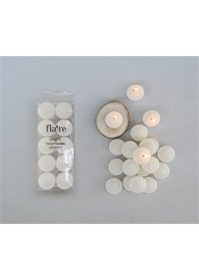 Creative Co-op Unscented Tealights