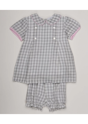 Oaks Apparel Company Oaks Apparel Peyton Grey Check Set